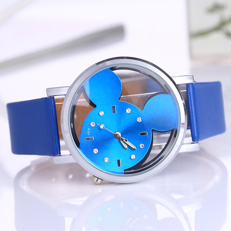 Cristalino reloj mujer 2016 marca de moda de lujo Patt Casual reloj de cuarzo  señoras reloj chica relojes de dibujos animados en Relojes de mujer de  Relojes ... 1b094d091997