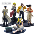 Envío gratis 5 unids/set Fullmetal Alchemist Edward Winry rey PVC figuras de acción juguetes juguetes clásicos