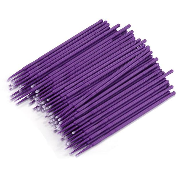 100Pc/ Bottle Microblading Micro Brushes Swab Lint Free Tattoo Permanent Supplies 2JY18 2