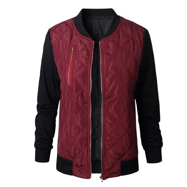 0cb940f821d Hot 2018 Autumn Winter Jacket Women Thick Cotton Clothing Plus Size Green  Tops Fashion Zipper Long Sleeve Jackets Womens Coats
