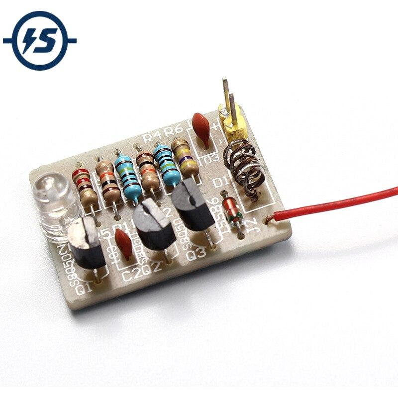 Electronic DIY Kit Mobile Phone Signal Flash Light DIY Kit 3-12V Radiation Power Do-it-yourself