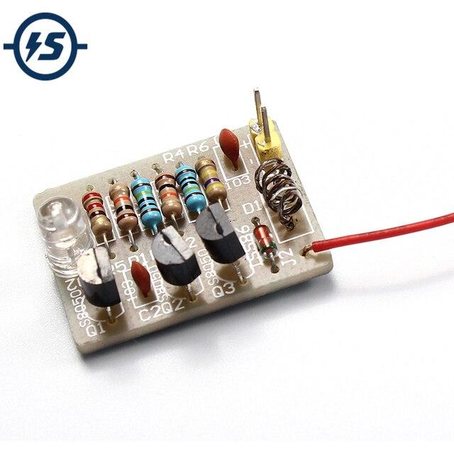 Mobile Phone Signal Flash Light DIY Kit 3-12V Radiation Power Electronic DIY Kit Fun