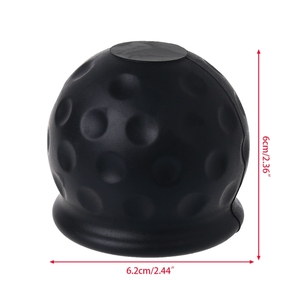 Image 5 - Universal 50mm Tow Bar Ball Abdeckung Kappe Abschleppen Hitch Cara