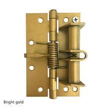 Позиционирующая петля пружина самовыравнивающаяся петля Автоматическая закрывающаяся дверь многофункциональная экранная дверь, деревянная дверная петля