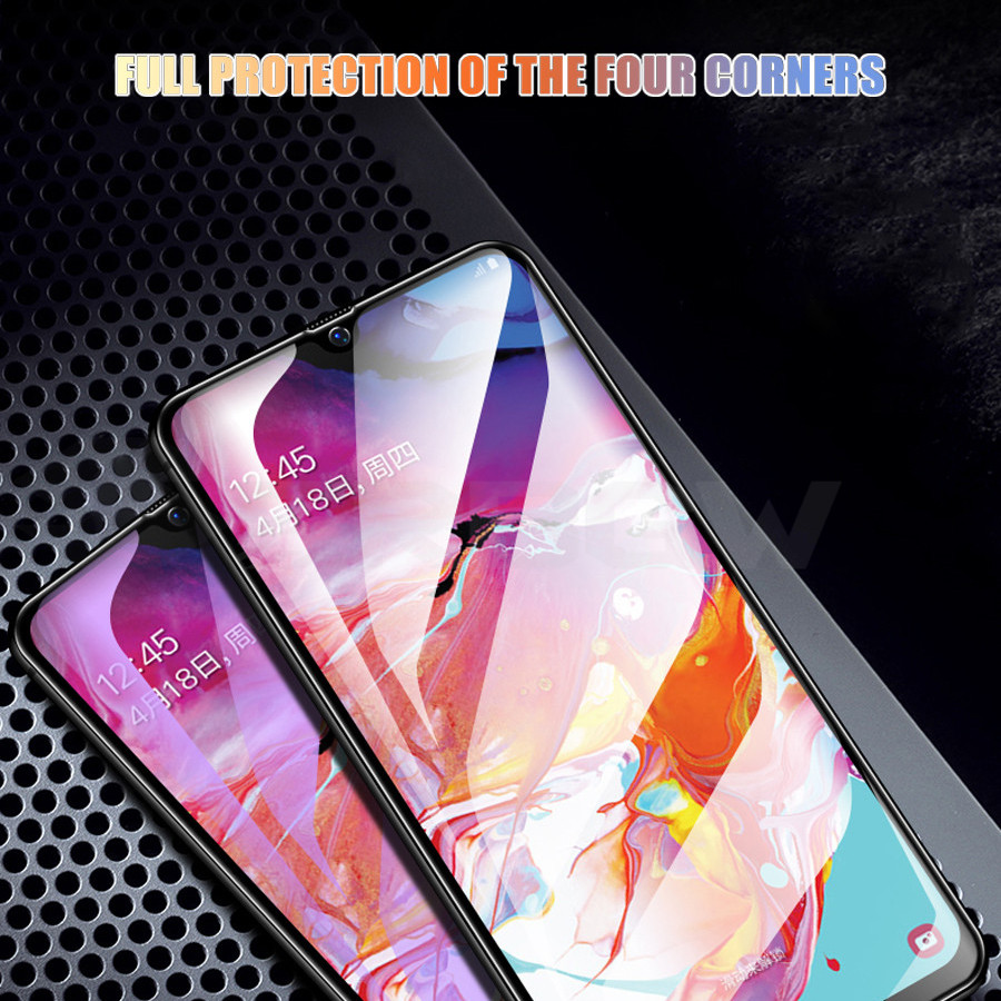 Image 5 - Tempered Glass For Samsung Galaxy A50 A40 A30 A20 A10 A40s Screen Protector For Samsung M10 M20 M30 A70 A80 A90 Protective Glass-in Phone Screen Protectors from Cellphones & Telecommunications