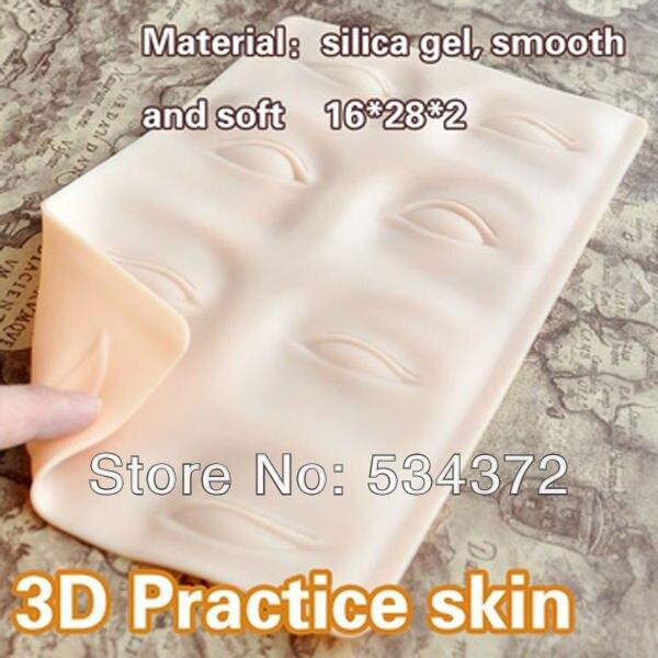 2PCS / Lot (Läppar + Ögonbryn) Yrke Smink Ögonfärg Läppar Övning Hud Gratis frakt