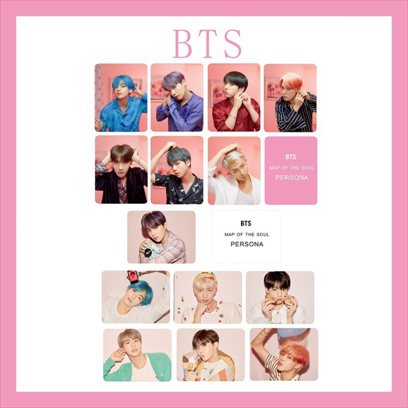 Twice Transparent Card What Is Love Kpop Bts Bangtan Boys Love Yourself Tear Album Paper Poster Photo Lomo Card Hf212 Costume Props