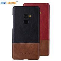 Case For Xiaomi Mi MIX 2 KEZiHOME Luxury Hit Color Genuine Leather Hard Back Cover Capa