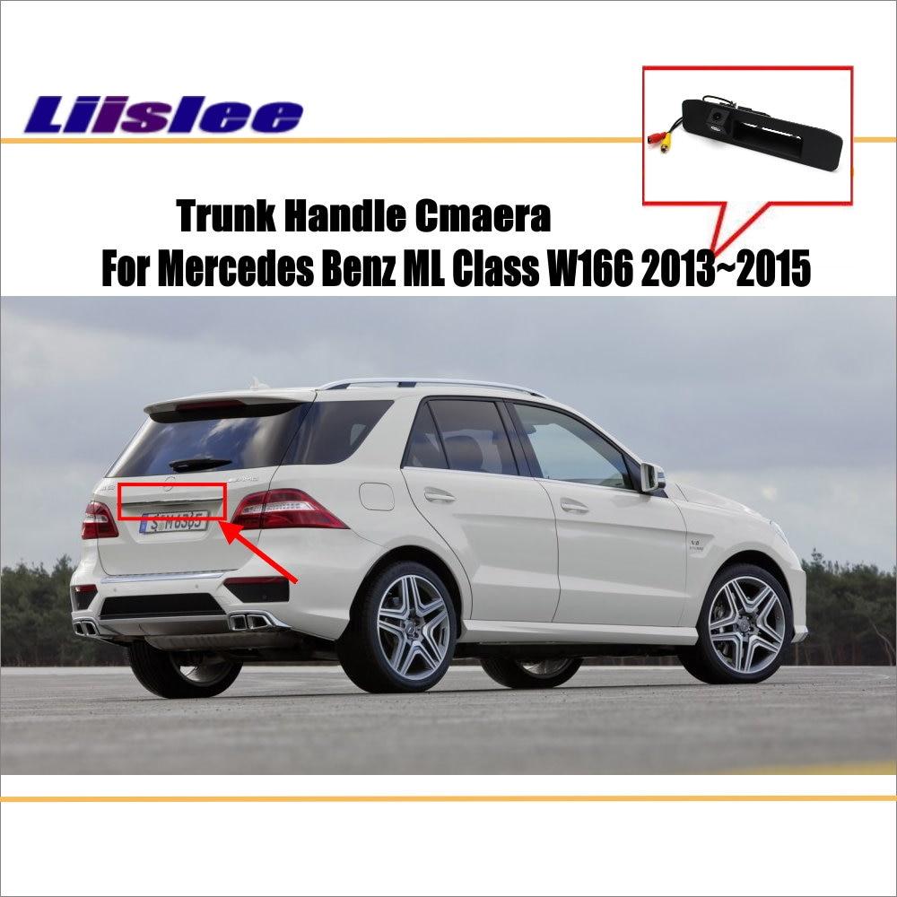 Liislee For Mercedes Benz ML Class W166 Car Parking Reverse Camera Rear View Camera Back Up