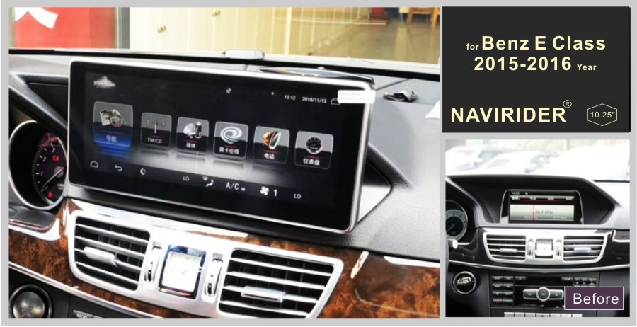 Premium Audio Device Car Stereo navigation For Benz E Class 2015 2016 Right/Left wheel GPS radio android 8.0 multimedia player
