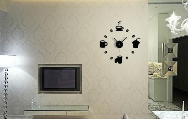 Diy muur klokken horloges op muur home decoratie d spiegel