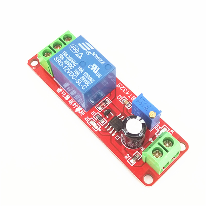 NE555 delay module Monostable switch Delay off switch (12V) electric vehicle delay dc 12v led display digital delay timer control switch module plc automation new