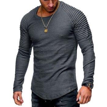 Tshirt Men Bodybuilding Casual Fitness L...