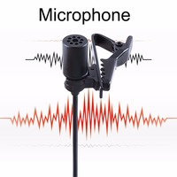 BOYA BY M1 Lavalier Lapel Omnidirectional Condenser Recording Microphone For IOS For Android Smartphone For DSLR
