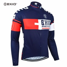 BXIO Cycling Jersey  Ropa Ciclismo Hombre MTB Bike Jerseys Multi Color Brand Bicycle Clothes Long Sleeves 025-J