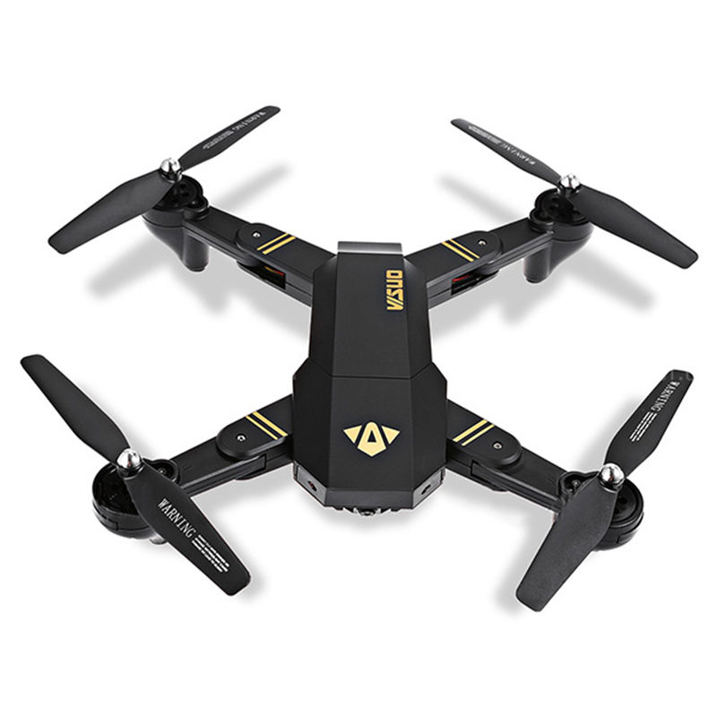 VISUO HD Camera Altitude Hold Foldable Arm RC Drone