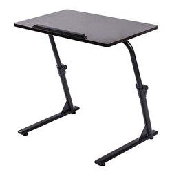 Moderno de elevación portátil mesa de escritorio de la computadora de sofá cama soporte de portátil escritorio de la computadora de mesa ajustable para Laptop