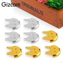 Gizcam 4Pcs Metal Motor Protect Mount Base Plates Anit-Crack Kit for DJI Phantom 3 Drone Helicopter Protector