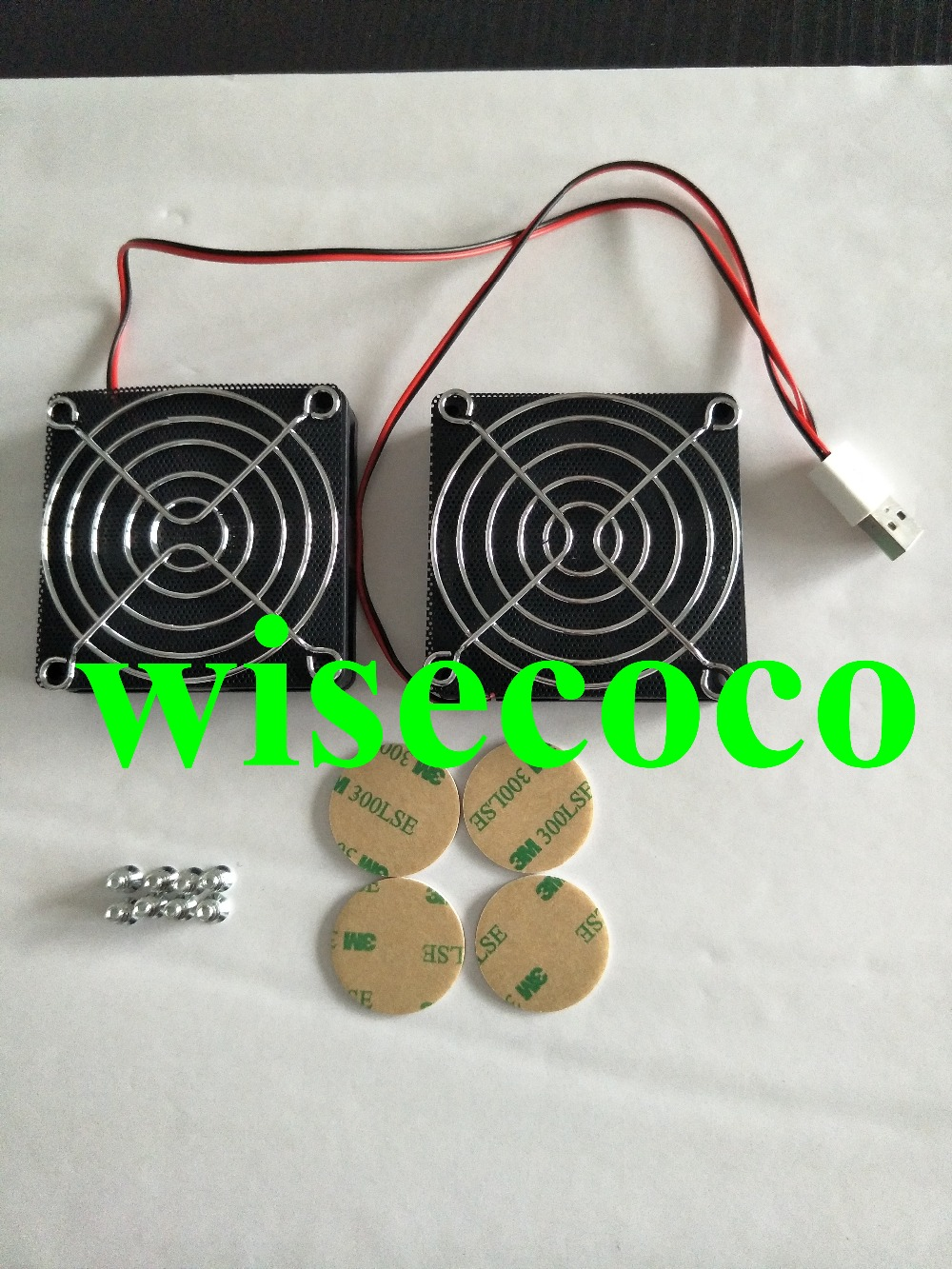 RT-AC68U  AC68U Cooling Fan Heat Radiator USB Power Ultra Silent Dissipate Temperature Control For EX6200 AC15 Router