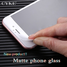 CYKE 9H Frosted Tempered Glass For iphone 6 s 6s plus Screen Protector No Finger prints Matte Glass For iphone 7 plus Protective