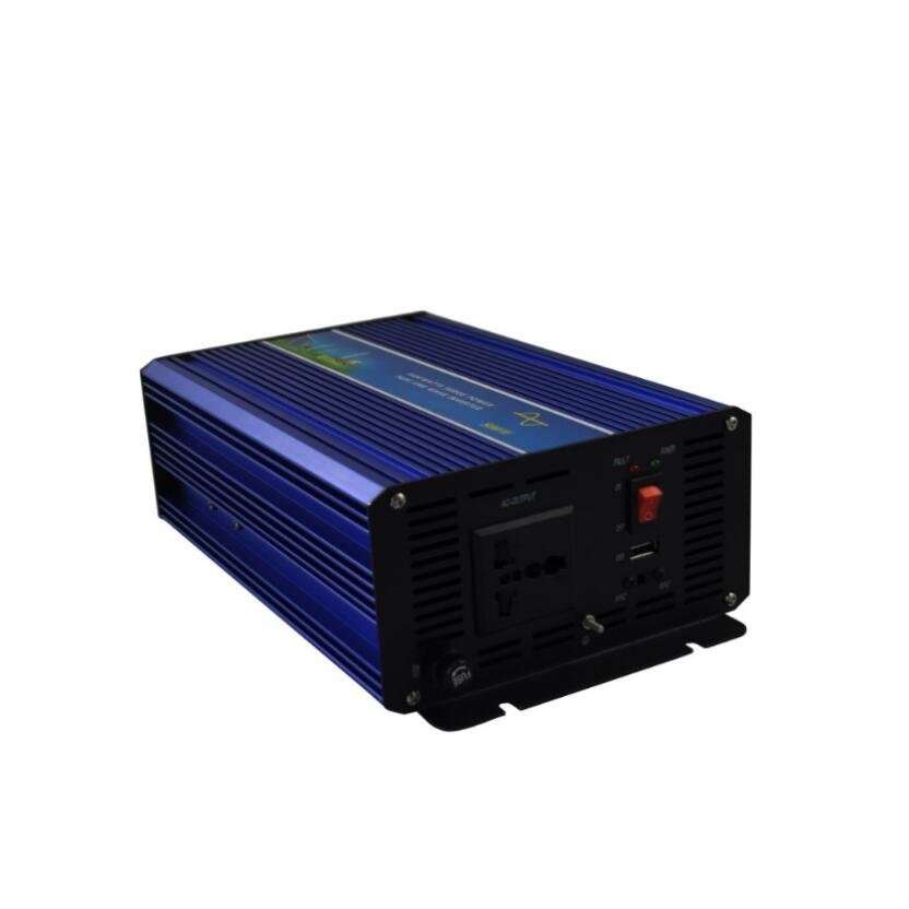 Off grid 1600w Peak power inverter 800W pure sine wave inverter 12V DC TO 220V 50HZ AC Pure Sine Wave Power Inverter