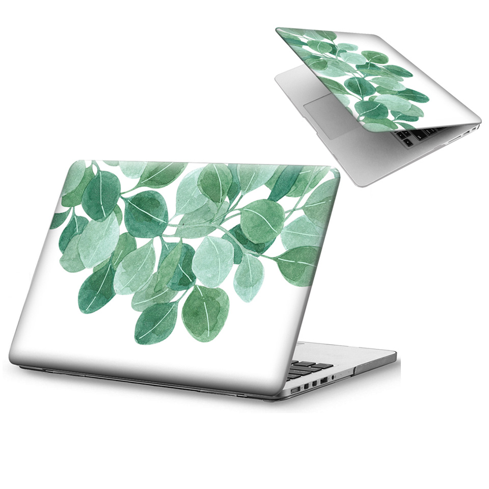 Oil Painting Cartoon Flower Matte Hard Cover Case For Apple Macbook Air 11
