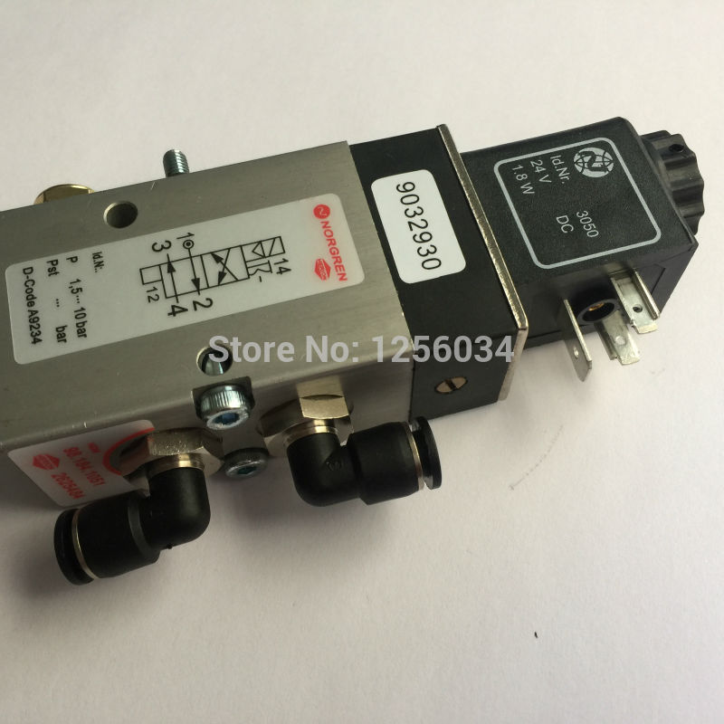 5 pieces high quality printing machine parts Heidelberg SM102 CD102 valve 98.184.1051 5 pieces high quality heidelberg solenoid valve m2 184 1121 05 heidelberg printing machinery parts