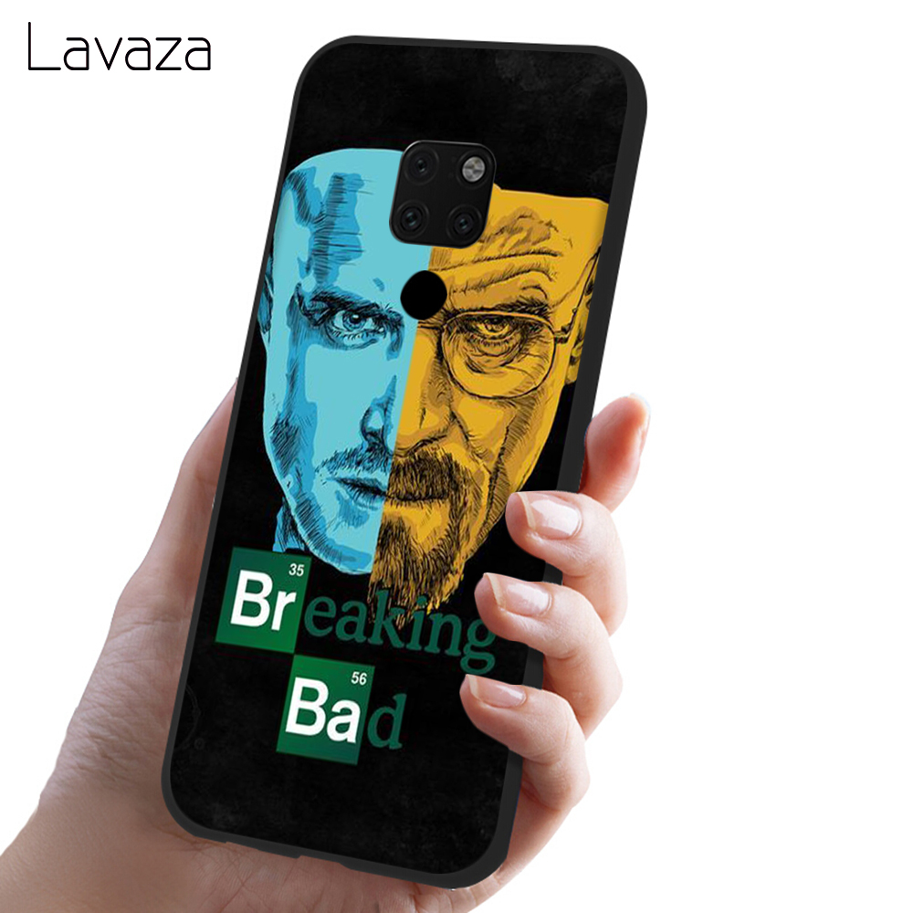 Lavaza Breaking Bad Chemistry Walter Soft Silicone Case Cover for Huawei Mate 10 20 P9 P10 P20 Lite Pro P Smart 2019 TPU Cases in Fitted Cases from Cellphones Telecommunications