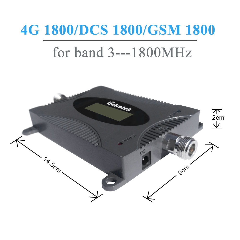 Image 2 - Lintratek Powerful 1800 mhz 4G Repeater Band 3 4G LTE 1800MHz  Amplificateur GSM 1800 Mobile Phone Signal Booster DCS 1800MHz  /amplificateur gsmphone signalsignal booster