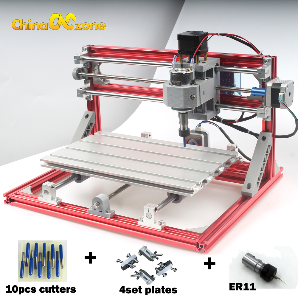 CNC 3018 ER11 DIY CNC Engraving Carving Machine PCB Milling Machine Wood Router Laser Engraving GRBL Control CNC Factory