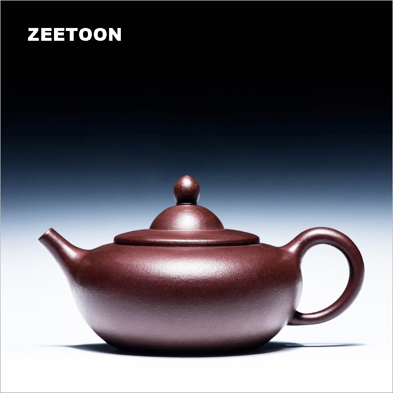 230cc Authentic Yixing Teapot Health Care Purple Clay Master Handmade Chinese Kung Fu Tea Set Kettle Puer Tea Pot Zisha Hat Pot230cc Authentic Yixing Teapot Health Care Purple Clay Master Handmade Chinese Kung Fu Tea Set Kettle Puer Tea Pot Zisha Hat Pot
