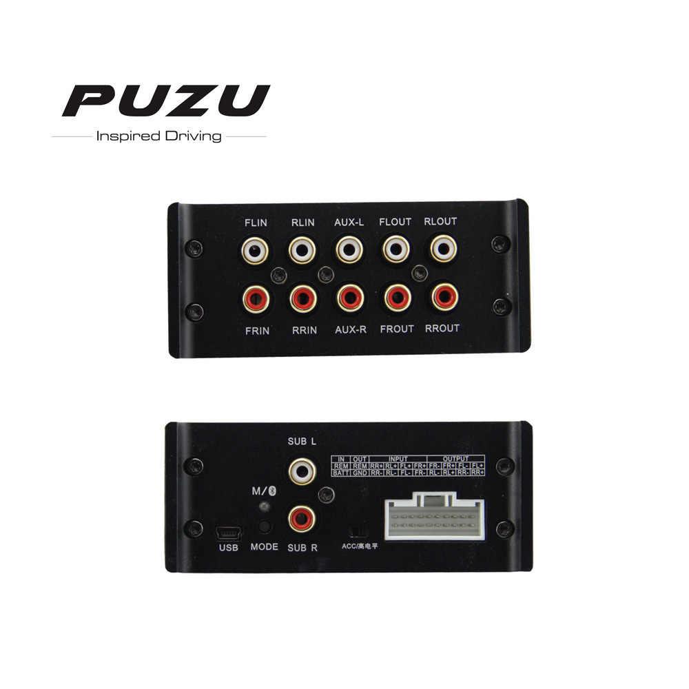 12 В Авто аудио автомобильный усилитель звука Мощный сабвуфер бас стерео звук 31 полосы цифровой автомобильный усилитель цифровой обработки сигналов 4 канала до 6 каналов