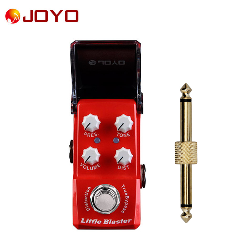 NEW Guitar effect pedal JOYO  Little Blaster Ironman series mini pedal JF-303 + 1 pc pedal connector 2 12