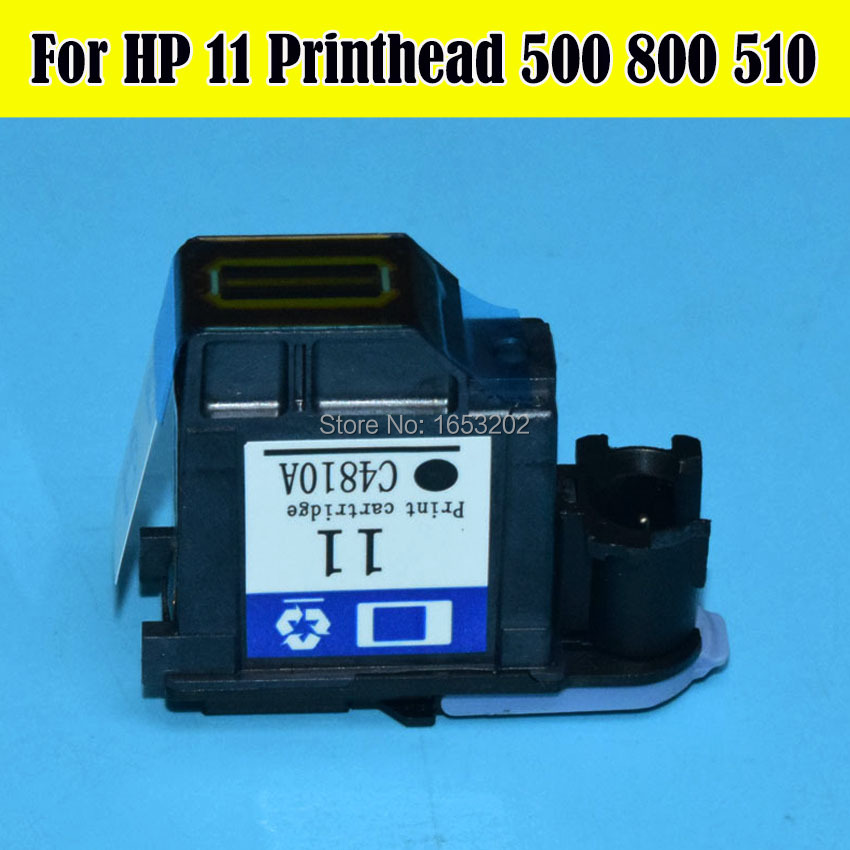 все цены на HP11 C4810A Printhead Black For HP 11 Print Head For HP Designjet 500 800 ps 510 1100 1200 2200 2250 2280 2300 2600 111 Printer онлайн