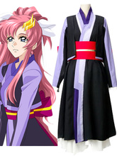 Mobile Suit Gundam SEED Lacus Clyne Silla Versión del traje de Cosplay