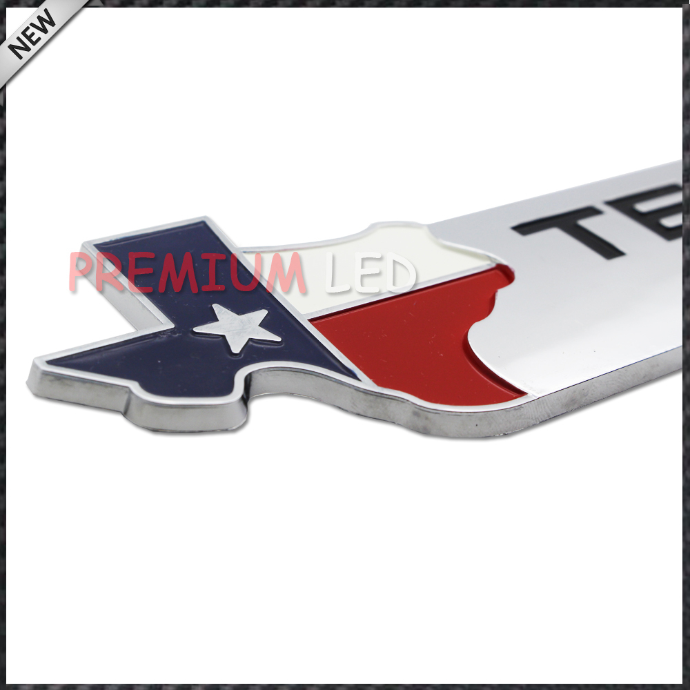 Aliexpress com buy 1 chrome finish 3d texas edition emblem badges for ford f 150 f 250 f 350 also universal for chevy gmc dodge trucks from reliable