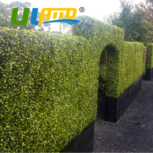 uland outdoor ivy fence artificial boxwood hedges mats 1.5 sqm