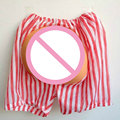 Halloween Fake Adult Size Ass Halloween Decoration Supplies Dress Up Butt Props EVA Natural Eco-friendly Latex Trick Toys