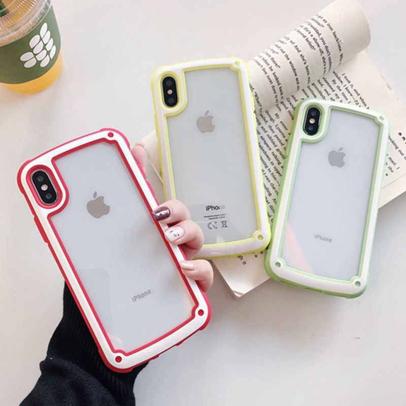 Hybrid Airbag ShockProof Clear Phone Case for iphone XR X XS MAX