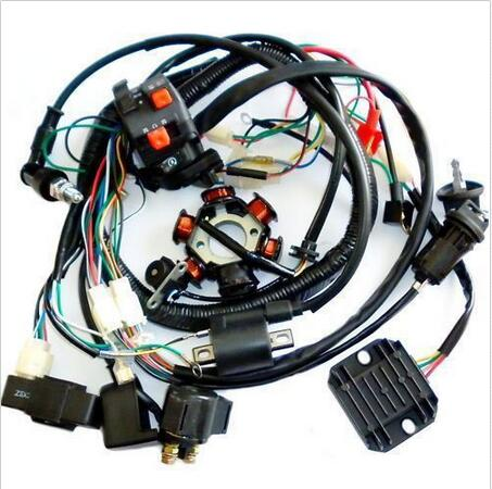 popular magneto buy cheap magneto lots from magneto gy6 wire loom harness solenoid magneto coil regulator cdi 150cc atv quad bike ta