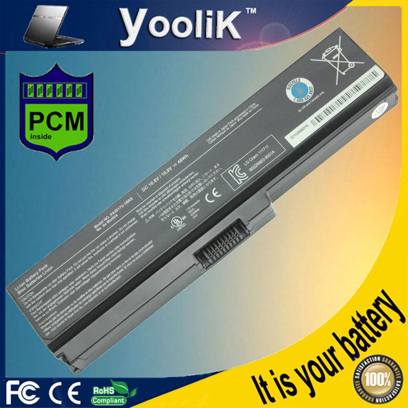 Μπαταρία για TOSHIBA Satellite L315 L317 L322 L323 L510 L515 T350 T551 L600 L600D L630 Μ330 M331 M500 M640 C650 C660 pa3817u