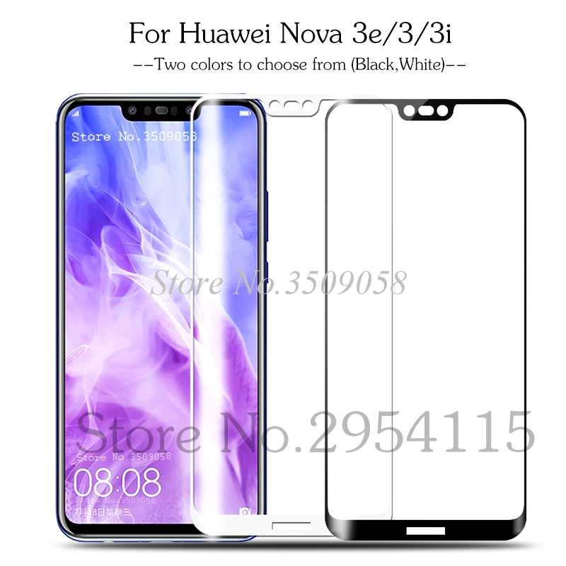 5d glas for huawei nova 3 3i y6 y7 y9 prime 2018 protective glass on the  huawey honor 10 9i play 7c 7a Pro Screen film cover