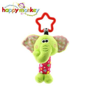Baby Kids Rattle Toys Cartoon Animal Plush Hand Bell Baby Stroller Crib Hanging Rattles Infant Baby Toys Gifts 35% off 1