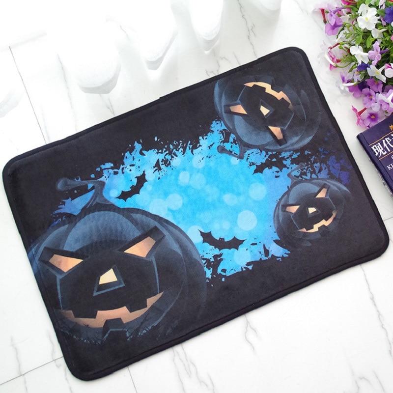 halloween rectangle cartoon carpet printed rugs modern carpet festive mats digital printing door mats alfombras vloerkleed - Commercial Halloween Decorations