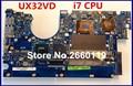 Laptop motherboard para asus ux32vd com cpu i7 sistema mainboard totalmente testado e qualidade perfeita