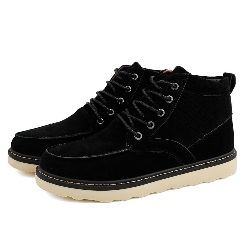 Winter Warm font b Men s b font Casual font b Shoes b font British Fashion