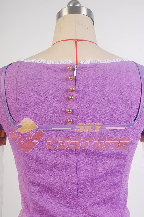 Niñas enredadas Princesa Rapunzel Disfraz Las Mujeres Adultas Visten - Disfraces - foto 5