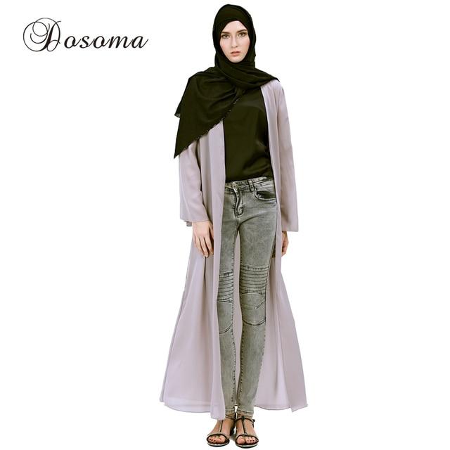 88ef9ffba82 Mode Musulman Dentelle Cardigan Robes Élégant Maxi Dress Abaya Turc Femmes  Islamique Robe Instant Hijab Arabe