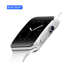 SCELTECH Bluetooth X6 Smart Watch Men Relojes SIM TF Card Relogio Reloj Inteligente Wearable Device Smartwatch