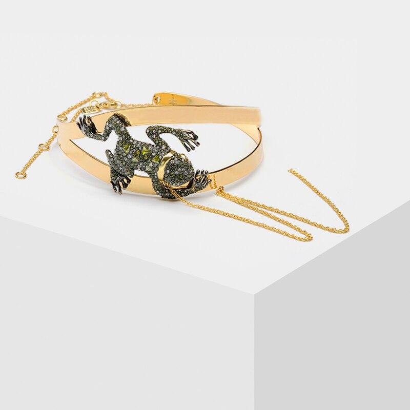 Amorita boutique Green tiana pendant  frog necklacesAmorita boutique Green tiana pendant  frog necklaces